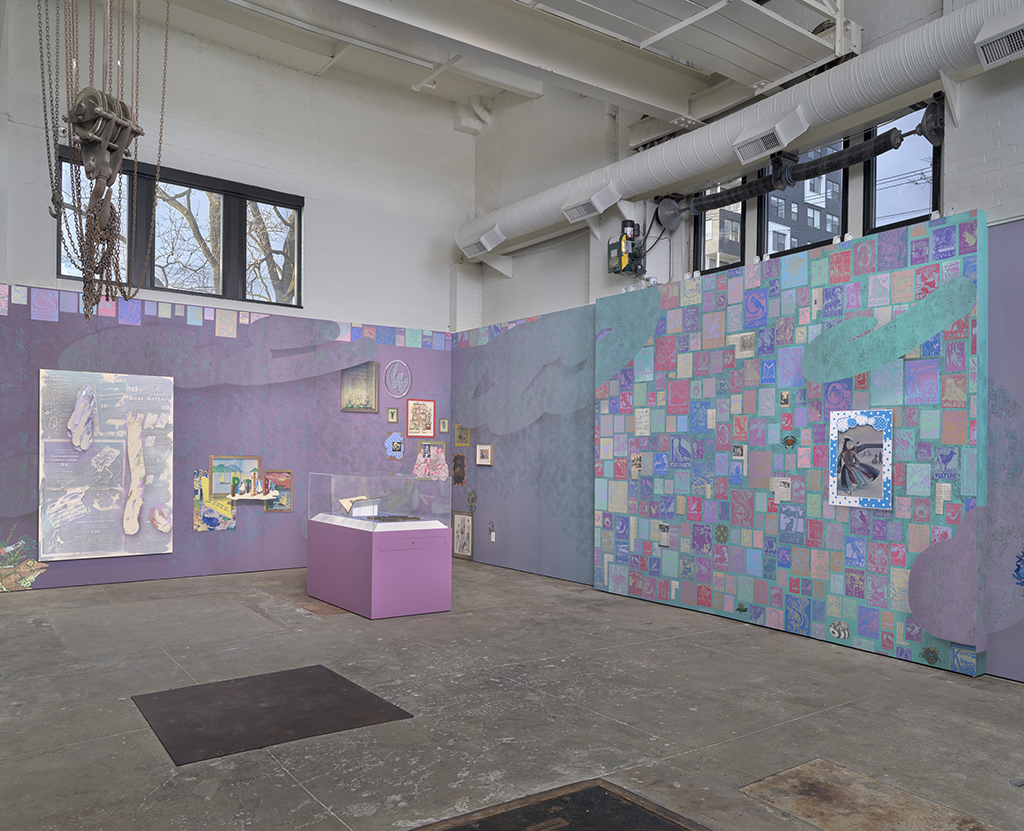 Laura Owens Exhibition